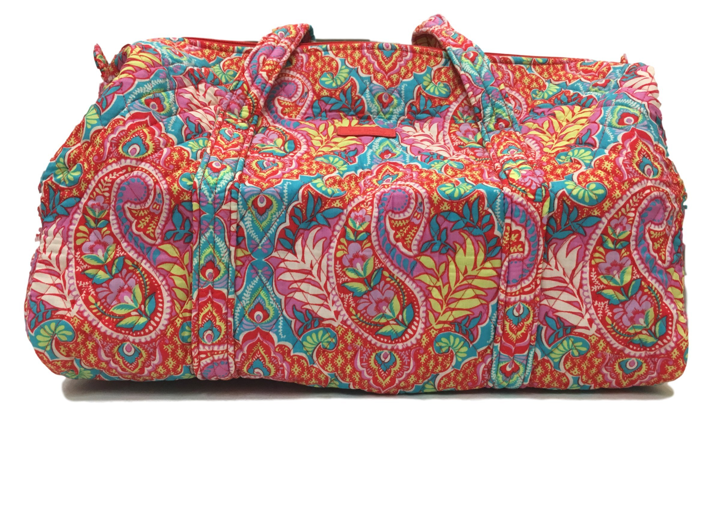 Vera Bradley Small Duffel Bag, Paisley in Paradise