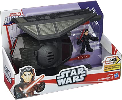 Action- & Spielfiguren Star Wars Kylo Ren Tie Silencer star fighter Action Figures and ship