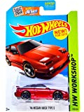 Hot Wheels 2015 HW Workshop '96 Nissan 180SX Type X 205/250, Red