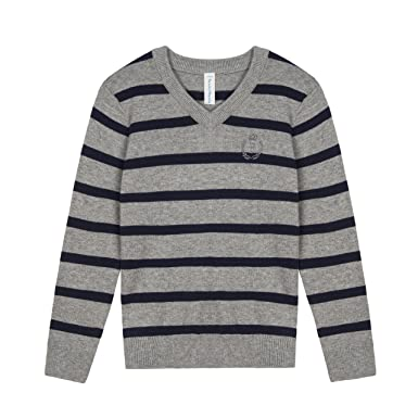 c5b60cc19 Amazon.com  Benito   Benita Pullover Sweater School Boys V-Neck ...