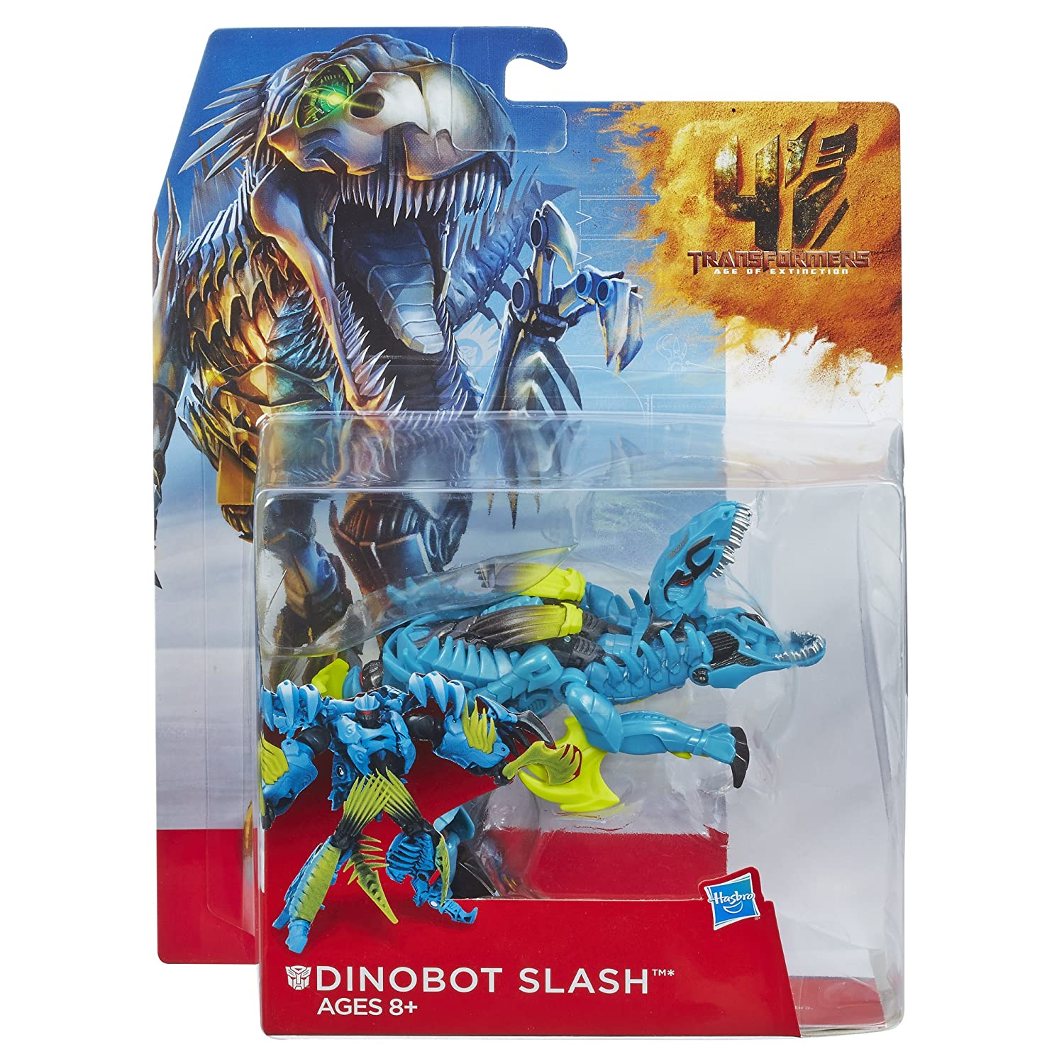 Transformers Age of Extinction Generations Deluxe Class Dinobot Slash Figure Hasbro A7815000