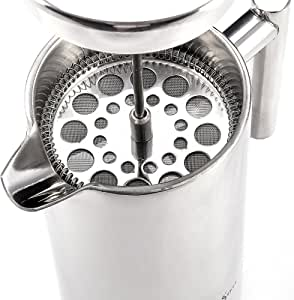 French Press Coffee Maker Plunger-1 Cup(350ml) Dual Wall Stainless Steel - Specialty Coffee of Noosa