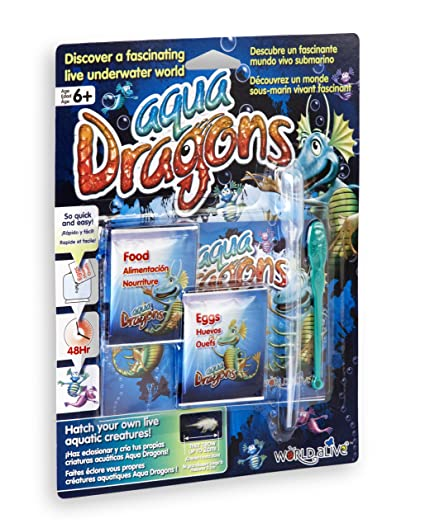 Aqua Dragons - Dragón de agua Mundo Submarino Juguete educativo World Alive W4004
