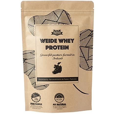 Protero Weide Whey Protein - Grass Fed, Unflavoured 350g