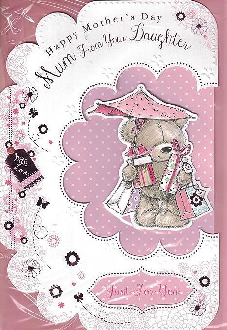 Día de la madre tarjetas ~ a partir de su niña, mamá feliz ...