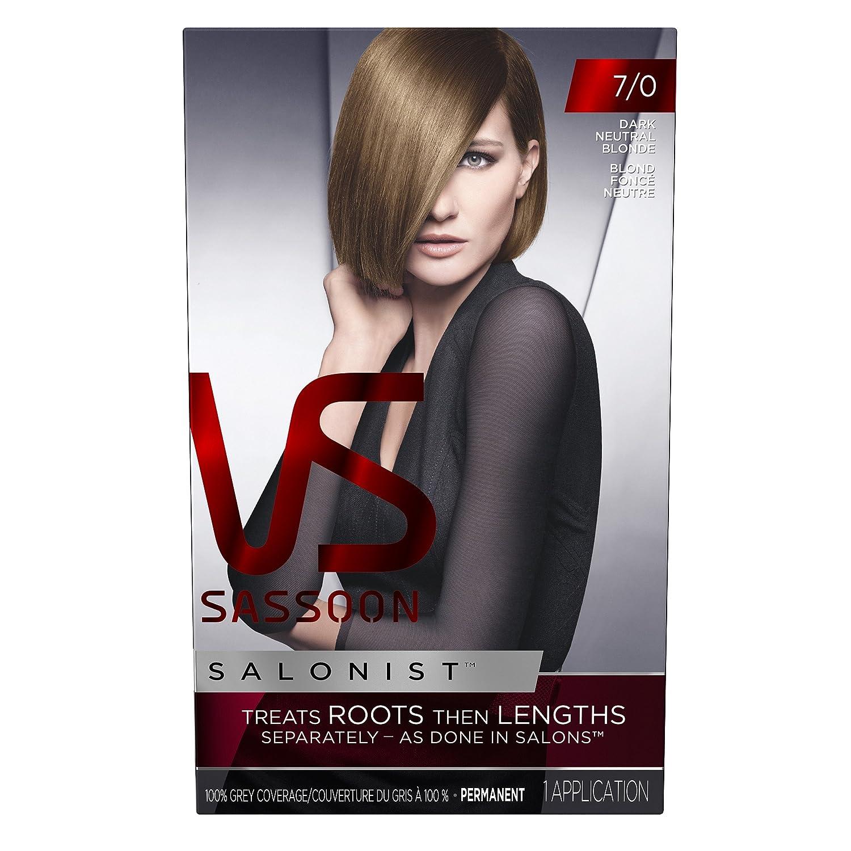 Amazon.com : Vidal Sassoon Salonist Hair Color Permanent Color Kit ...