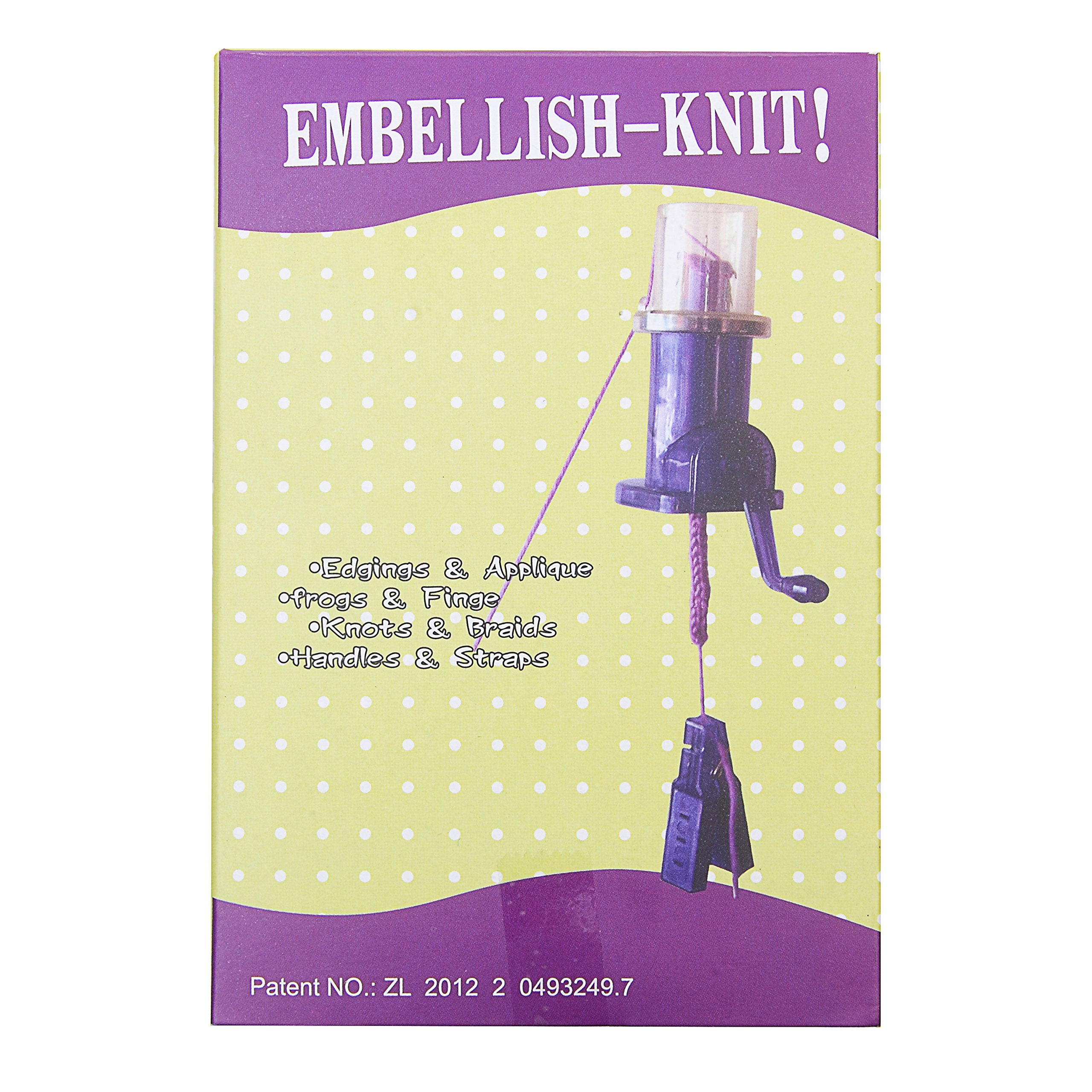 Aeakey Weaver Knitting Tool Hand Crank Weaver Domestic Hand-cranked (Winding Machine/Winder/Yarn/Lace) Knitting Tools Manual Tools Useful DIY Tools (Blue)
