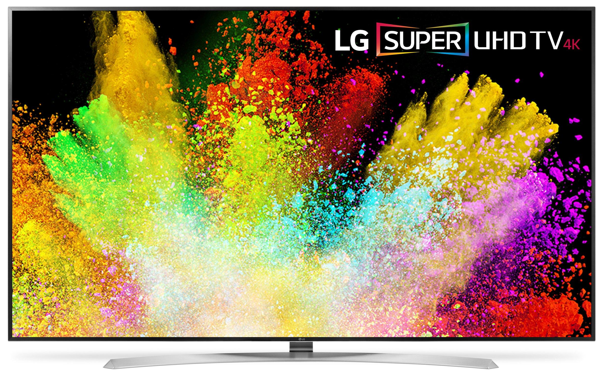 LG Electronics 86SJ9570 86-Inch 4K Ultra HD Smart LED TV (2017 Model) by LG
