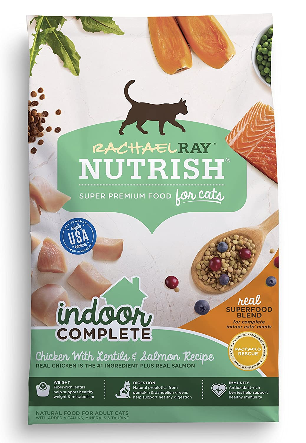 Amazon Rachael Ray Nutrish Indoor plete Natural Dry Cat