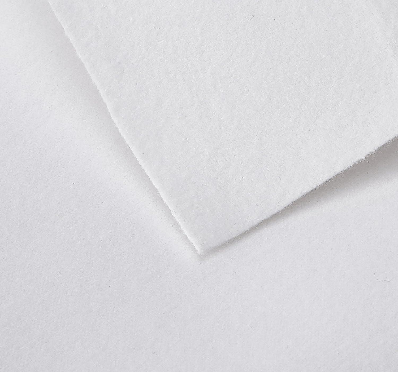 Jollein Flanel Sheet Waterproof 80 x 100 cm, White