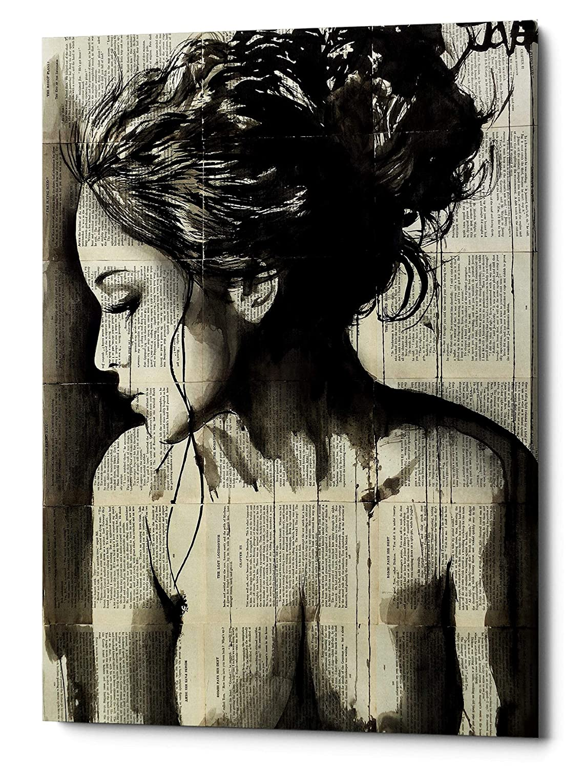 Epic Graffiti Dreamer by Loui Jover Giclee Canvas Wall Art, 18