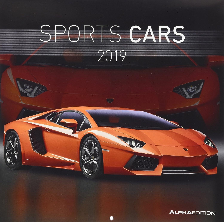 """Calendario Da Muro """"Auto Sportive"""" 2019 30X30 Cm"""