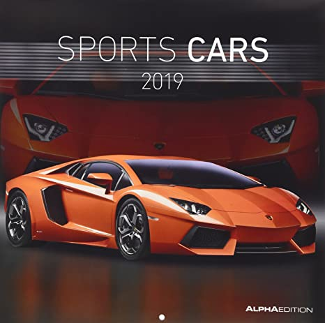 Calendario Auto.Calendario Da Muro Auto Sportive 2019 30x30 Cm