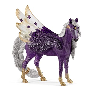 SCHLEICH bayala Star Pegasus Mare Imaginative Toy for Kids Ages 5-12: Toys & Games