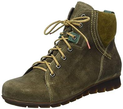 Think Damen Menscha_181074 Desert Boots, Grau (Vulcano/Kombi 21), 37 EU