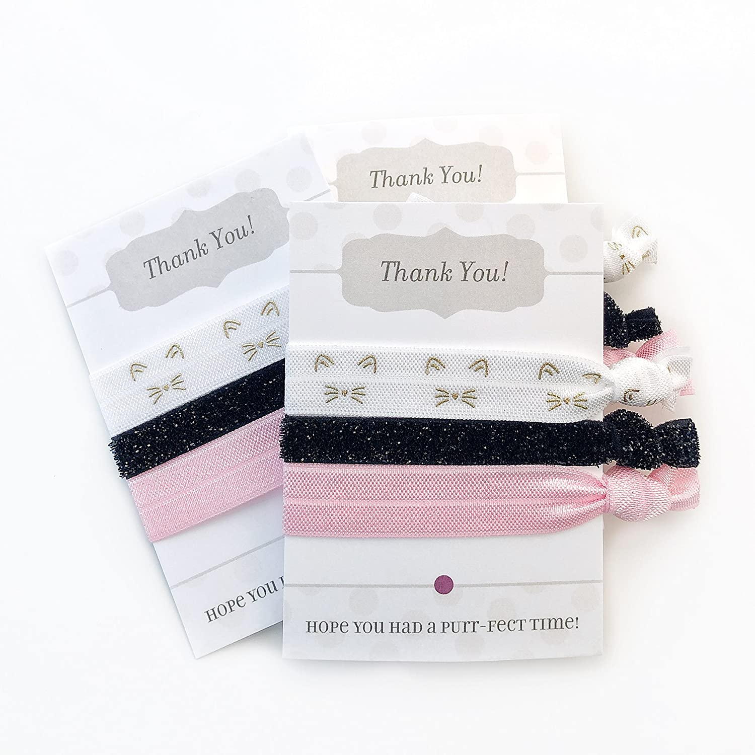 Kitty Cat Party Favours - Hair Ties (5 Pack)