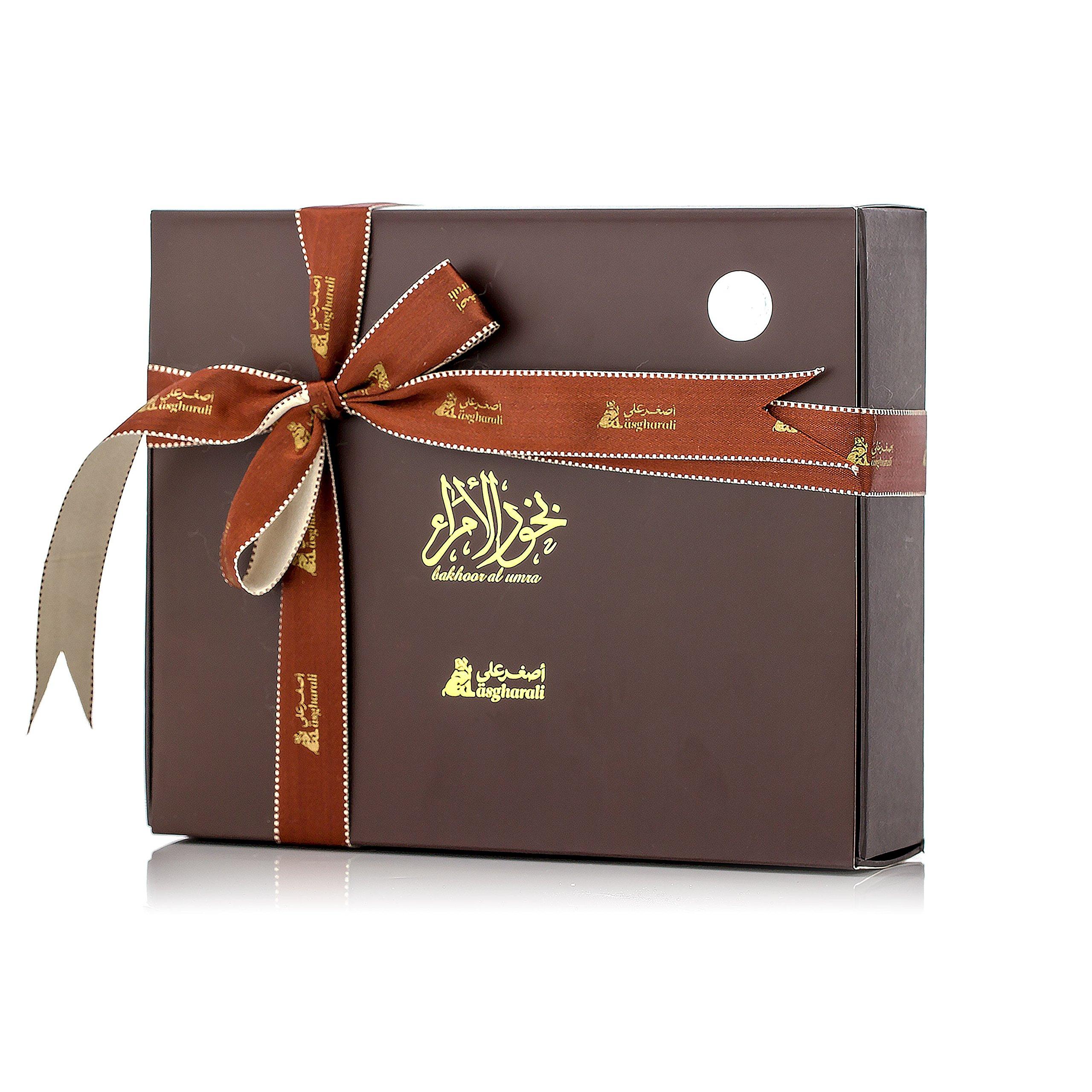 BAKHOOR AL UMRA 240gm Asgharali Arabic Incense, Agarwood Oudh, Woody Vanilla Spicy, Room Fragrance by Asgharali BAKHOOR AL UMRA (Image #2)