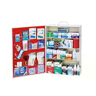 Medique Products 734ANSI Filled Four Shelf First Aid Kit