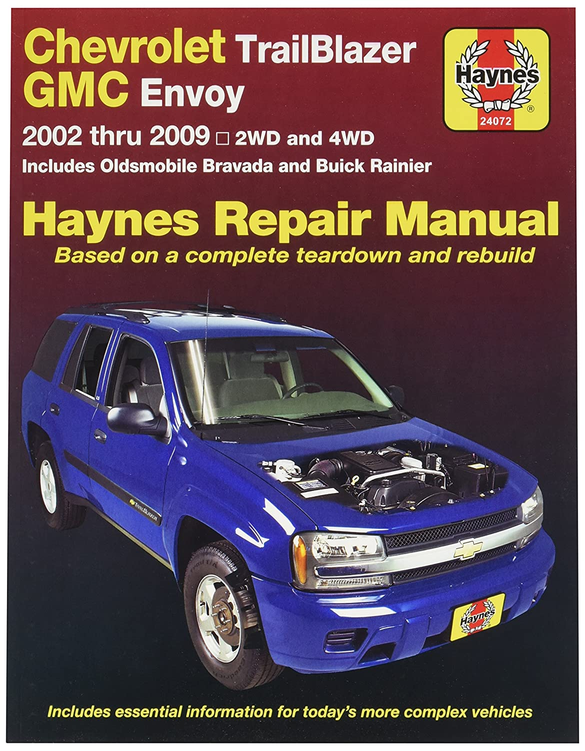 amazon com haynes publications inc 24072 repair manual automotive rh amazon com 2005 Trailblazer Problems repair manual for 2004 trailblazer