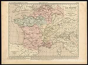 De mapamundi antiguo - españa-italia-clovis francia-bélgica- - Houze-Adam-1859: Amazon.es: Hogar
