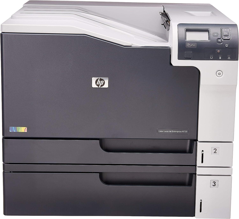 HP Color Laserjet Enterprise M750n (D3L08A) (Renewed)