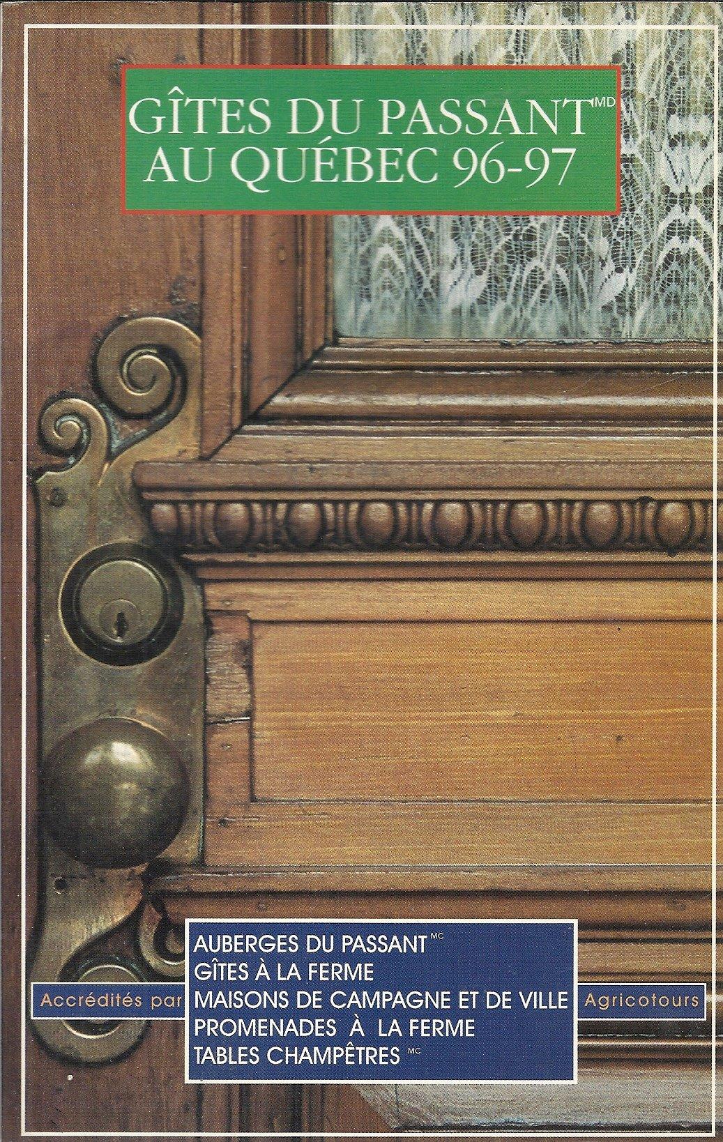GITES DU PASSANT AU QUEBEC Guides F Amazon.de Collectif ...