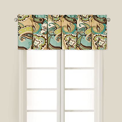 C&F Home Kasbah Valance Set 2 Valance Set of 2 Brown