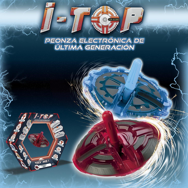Goliath Itop Infinito, Peonza Electrónica, Color Naranja (85253): Amazon.es: Juguetes y juegos