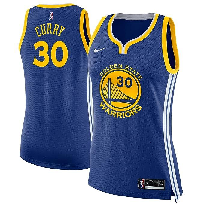 Nike GSW W Nk Swgmn JSY Road Camiseta 2ª Equipación Golden ...