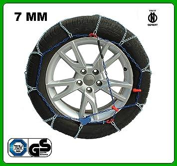 Cadenas de nieve para coche, eslabón 7 mm, homologadas V5117 ZN780KW: Amazon.es: Coche y moto