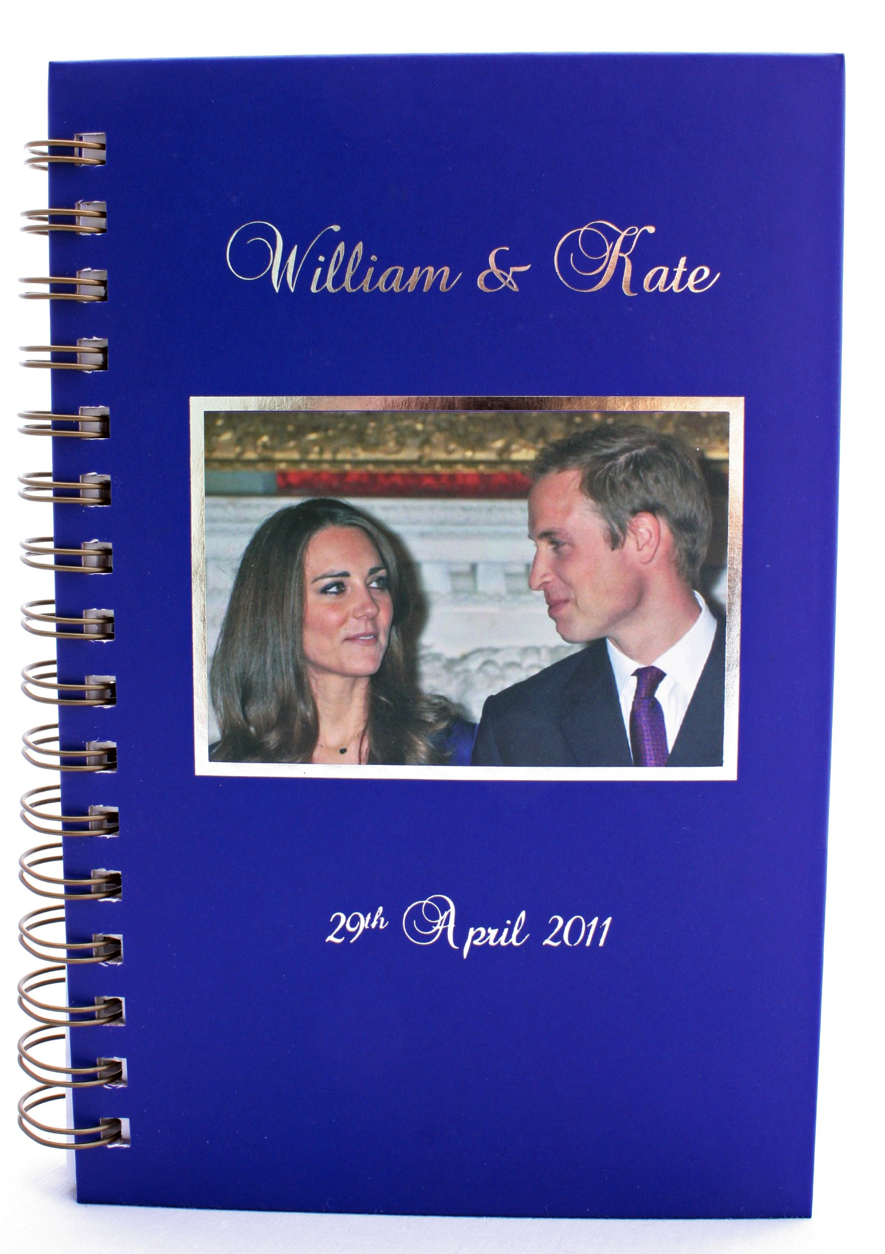 Read Online The Royal Wedding, Prince William & Kate Middleton Large Notebook Journal (Close up Smile) ebook