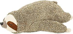 Livheart Fluffy Animals Body Pillow Sloth ''Non Non'' 58612-32 from Japan