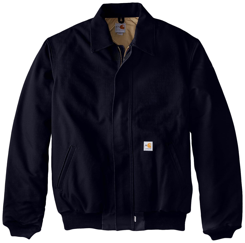 Carhartt Mens Big /& Tall Flame Resistant Duck Bomber Jacket Carhartt Sportswear Mens FRJ195