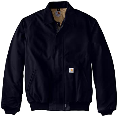 220791b6213 Image Unavailable. Image not available for. Color  Carhartt Men s Big    Tall Flame Resistant Duck Bomber Jacket ...
