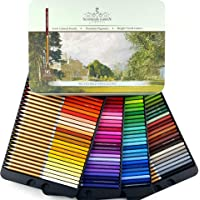 SCHPIRERR FARBEN 96 Color Pencil Set Professional Named & Numbered, Oil Based Soft Core, Ideal For Adult Crafts, Artists…