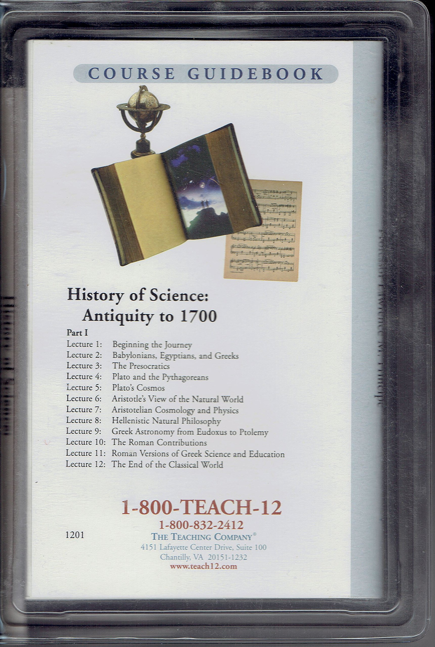 History of Science: Antiquity to 1700 - The Great Courses: Ancient & Medieval History (Audio CDs)