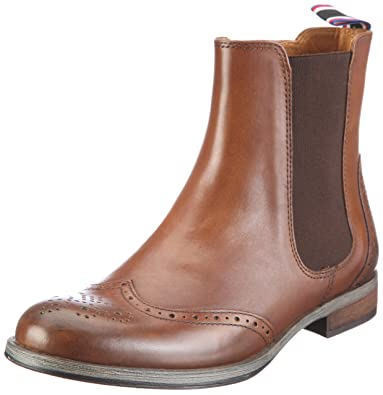 8671217fc Tommy Hilfiger Women s HEATHER 7 Boots Brown Size  8  Amazon.co.uk ...