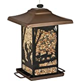 Perky-Pet 8504-2 Wilderness Lantern Wild Bird Feeder,Brown