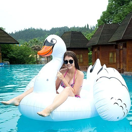 Amazon.com: JOYIN Flotador hinchable gigante para piscina ...