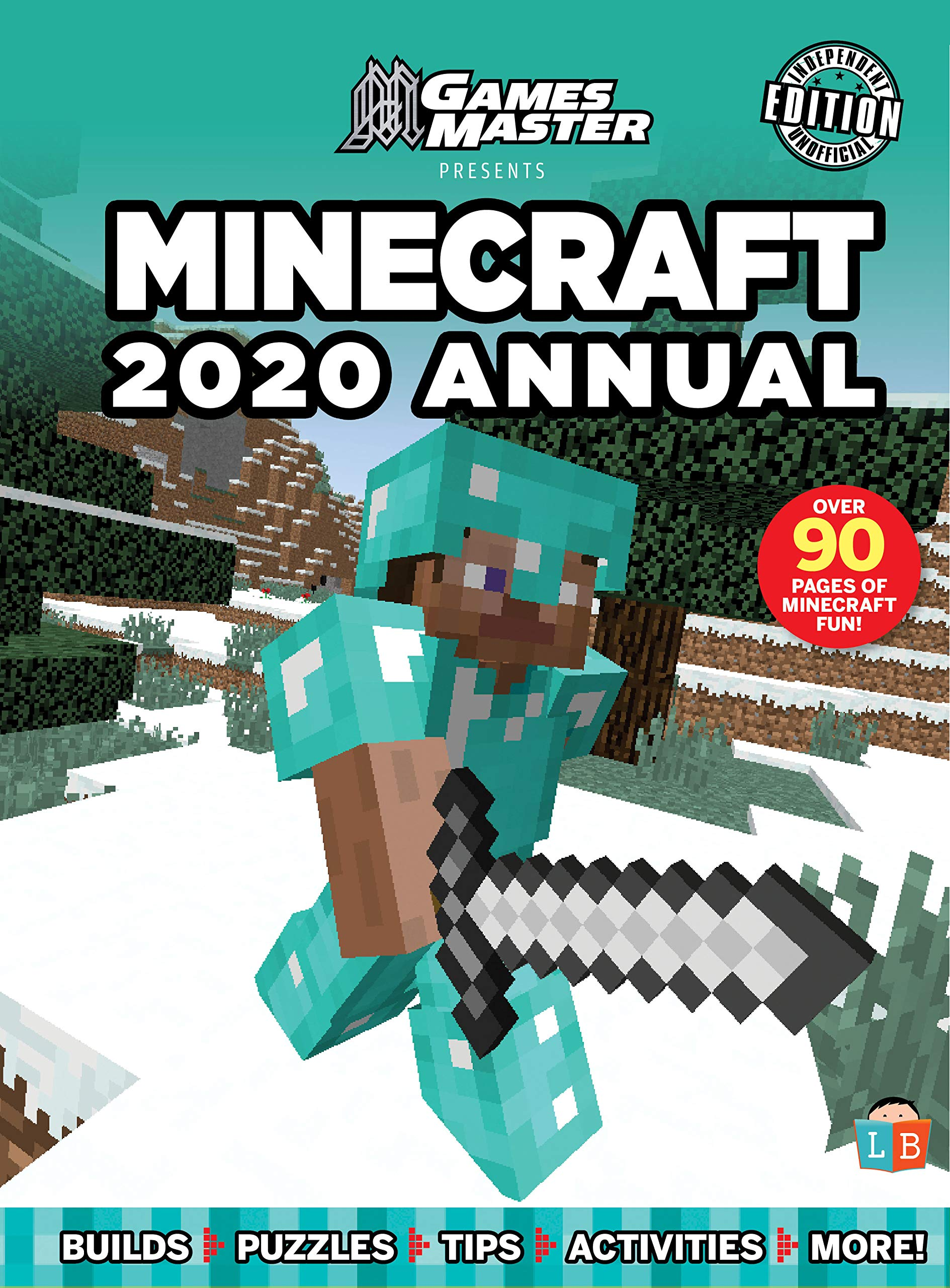 Top Selling Games 2020.Games Master Presents Minecraft 2020 Annual Little Brother