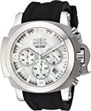 Invicta Men's 'Coalition Forces' Quartz Stainless Steel and Silicone Casual Watch, Color:Black (Model: 22275)