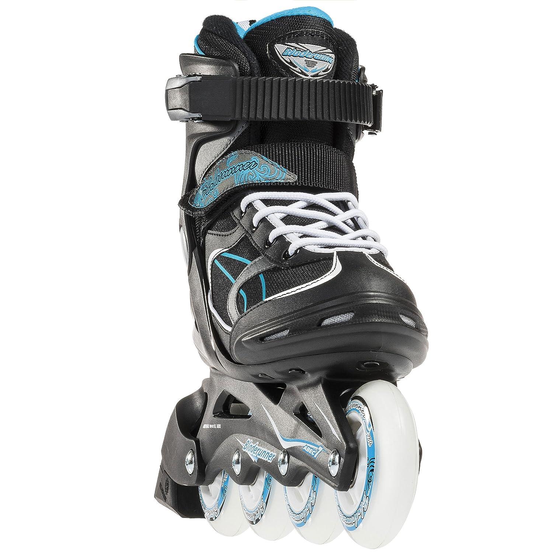 Black//Light Blue Inline Skates Size 7 Bladerunner by Rollerblade Advantage Pro XT Womens Adult Fitness Inline Skate Black and Light Blue