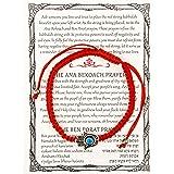 Red String Kabbalah Bracelet w/ Hamsa and Eye