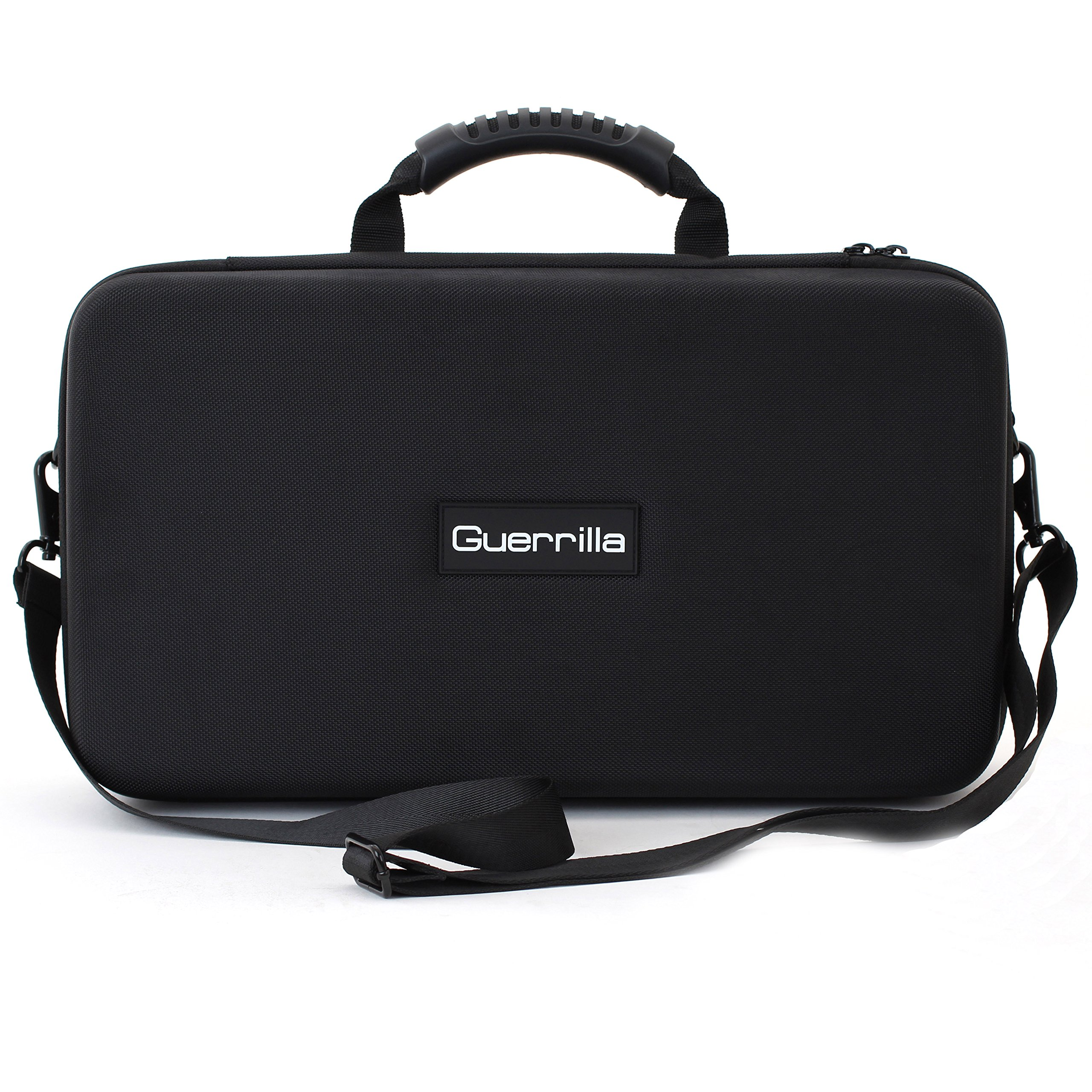 Guerrilla Hard Travel Case for TI-84 Plus Teacher Packs, Holds up to 10 Graphing Calculators, Black (CALCULATORS NOT INCLUDED)