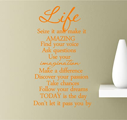 Amazoncom Life Seize It And Make It Amazing Find Your Voice Ask