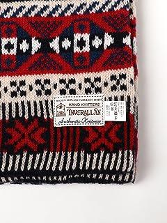Wool Fairisle Scarf 11-45-0583-263: Tricolor