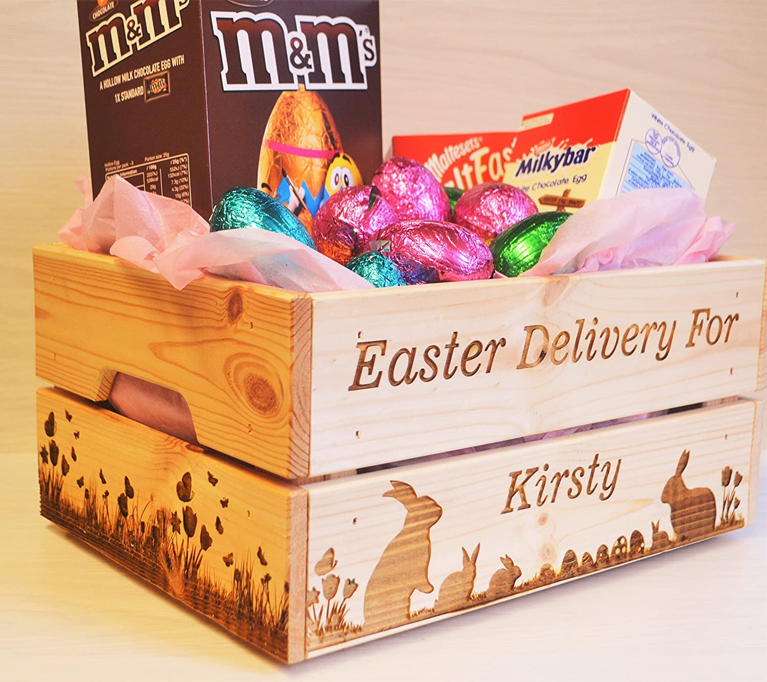 Personalised Easter Egg Surprise Box
