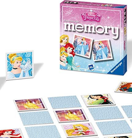 Ravensburger Disney Princess Mini Memoria: Amazon.es: Juguetes y juegos