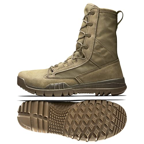 431a2d11a8 Nike SFB Field 8 quot  631371-990 Coyote Canvas Men s Special Field  Military Boots Beige