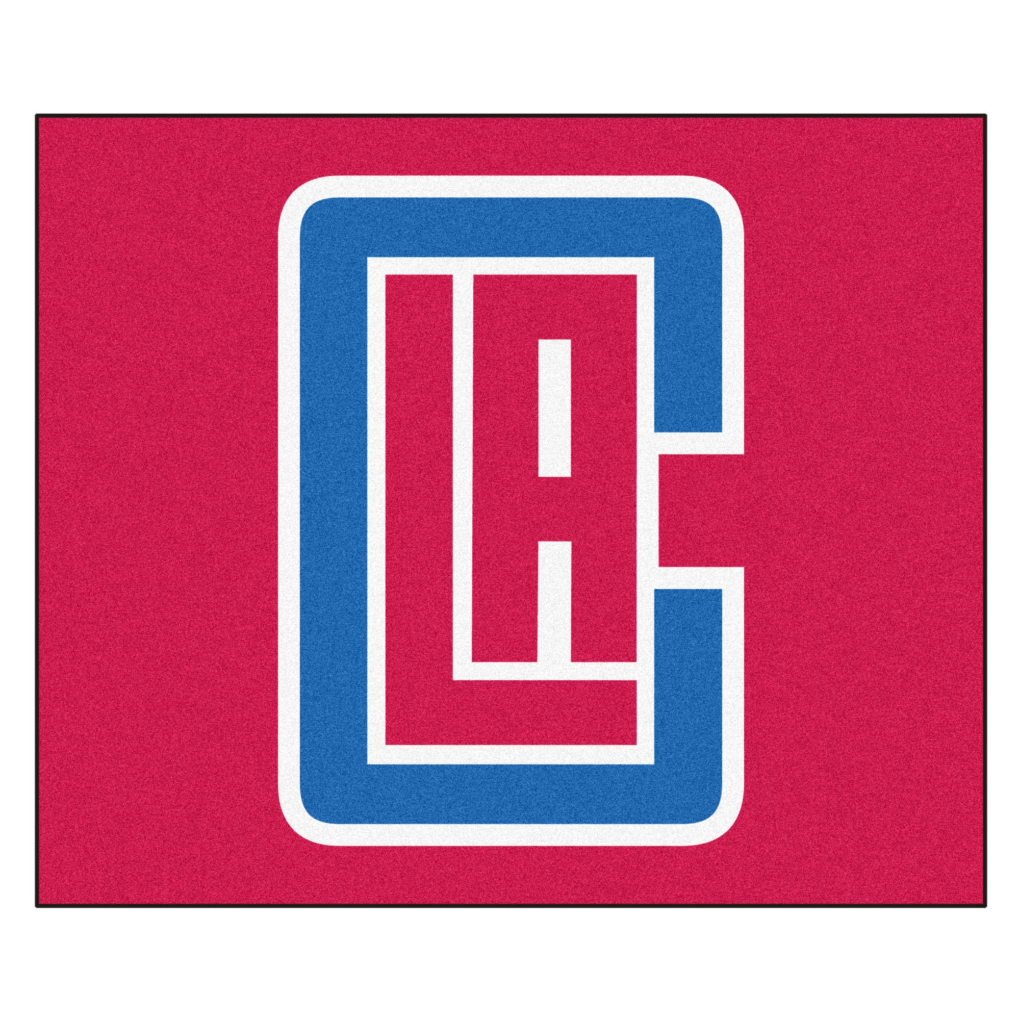 FANMATS 19447 NBA - Los Angeles Clippers Tailgater Rug , Team Color, 59.5''x71'' by Fanmats